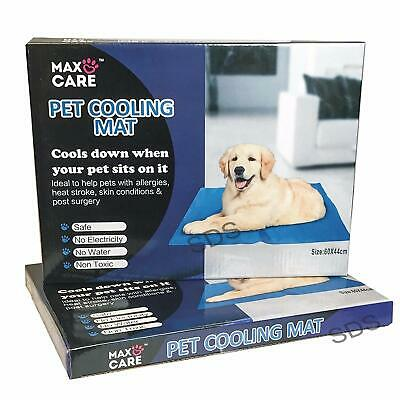 Pet Cooling Gel Mat Bed Dog Cat Summer Heat Relief Non Toxic Cushion Pad 60X44Cm