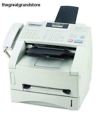 Brother FAX4100E IntelliFax Plain Paper Laser Fax Copier Machine Transmission