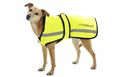 Equisafety Waterproof Hi-Vis Dog Rug - Cat & Dog Safety Wear