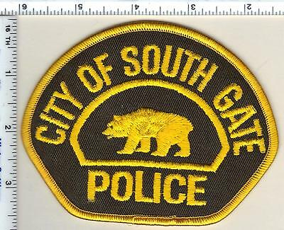 City Of South Gate >> City Of South Gate Police California Shoulder Patch