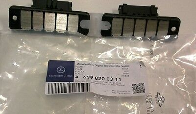New Genuine Mercedes-Benz W639 Vito Side Loading Door Contact Plates A6398200311