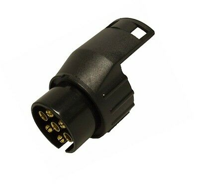 Plug Adapter 7 Pin To 13 Pin Towing Trailer Conversion 12N Maypole Mp6005