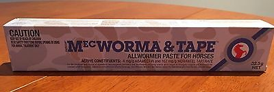 Mecworma Plus Tape Horse Pony Wormer