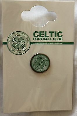 Celtic FC Football Club Enamel Crest Pin Badge Brand New sealed in packet
