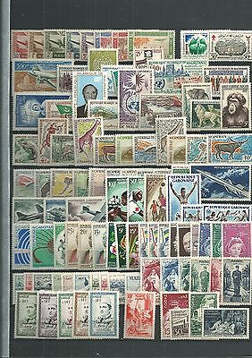 AFRICA MOROCCO-FRENCH COLs MAINY MNH 2 SCANS NICE LOT