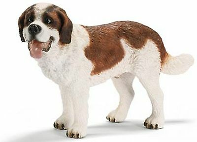 Schleich Farm Life Dogs - ST BERNARD MALE 16379 - New with Tag - Retired