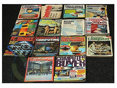 *rare Vintage* 14  Editions Early 80's / 90's Computer Magazines