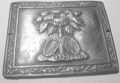 1861 Charleston SC 2nd CO. Sharpshooters C.S.A. BREAST/BOX PLATE