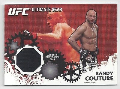 2010 Topps Ufc Ultimate Gear Relic Randy Couture