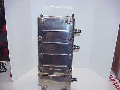 Stainless Oil Pan for SB2.2 Bowtie SB Chevy with Oiler Jets Hendrick Engines J1