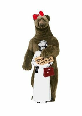 Death Nyc - Limited Edition Signed Print - 'bear Queen' [Dismaland Banksy]