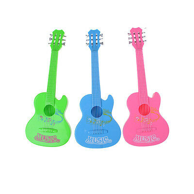 Baby Kids 6 String Plastic Guitar Toy learning Educational Toy GL