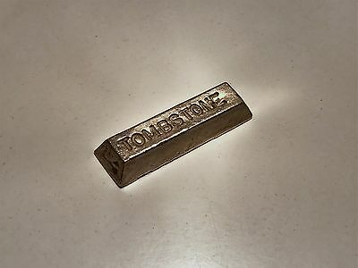 Tombstone .999 Silver Bar (1.02 oz. Unmarked)  K1376
