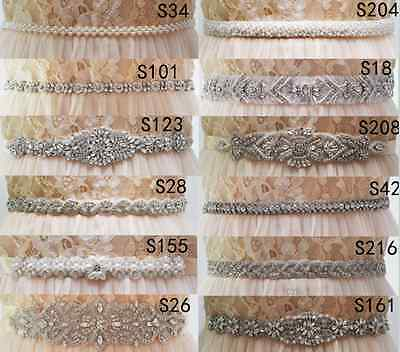 Free Shipping,Crystals Bridal Sash Bridal Belt Pearls Wedding Belts Wedding Sash