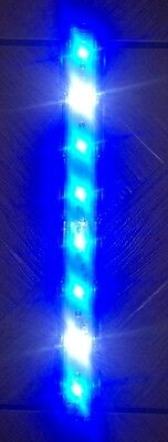 Tmc Aquaray Aquabeam Led Strip Marine Blue 8 Led Fish Tank Light (Usb Version)