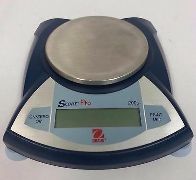 OHAUS Scout Pro SP202 Analytical 200g Digital Scale Lab Balance