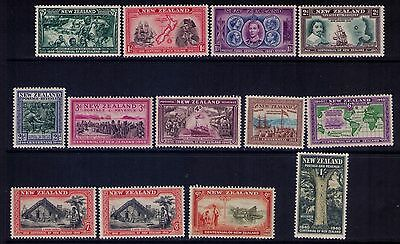 New Zealand Stamps SC# 229-41 Cpl. MLH/MH Set Cat.$56