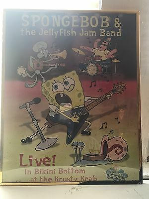 Spongebob Squarepants Collectible frame Picture great condition