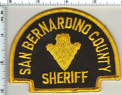 San Bernardino County Sheriff (California) Shoulder Patch - new