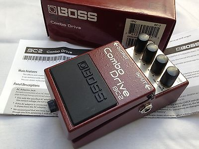 Boss BC-2 Combo Drive Overdrive Distortion Guitar Pedal VGC