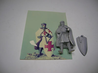 Cavaliere Templae- XIII° - soldatino in piombo 54mm-ditta Soldiers