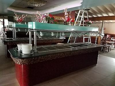 hot or cold buffet tables