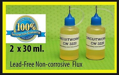 Circuitworks Cw3220  No Clean   Soldering Liquid Flux