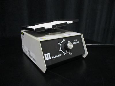 LAB LINE 3-D Rotator 4630 Rotator 7x5.5in Platform 30RPM Timed or Constant
