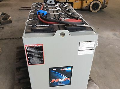 Electric Forklift Battery, 48volt 125P-13