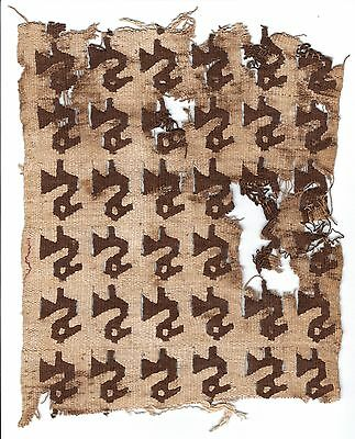 Pre-columbian Chancay or Chimu fabric / Private collection of the late Paul A. C
