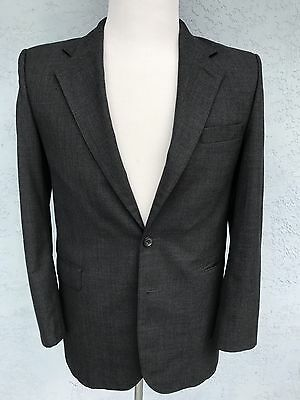 Brooks Brothers 2 Button Charcoal Small Blazer Sports Coat Jacket Wool 33 S