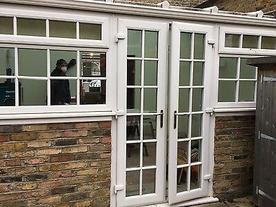 upvc conservatory (already dismantled for you)