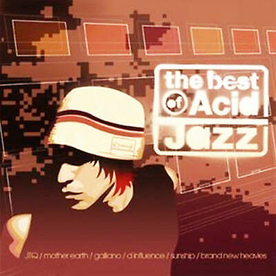 VARIOUS ARTISTS THE BEST OF ACID JAZZ CD Album MINT/MINT/MINT