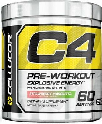 Cellucor C4 60 Serves Serve Pre Workout Dust Doom Gen 4 Energy Pumps Creatine