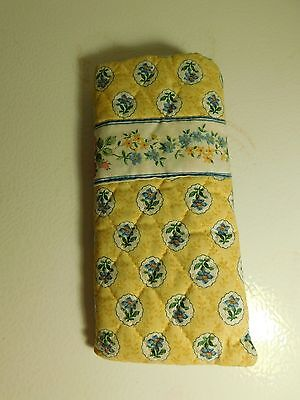 Vera Bradley Eye Glass Case Yellow   (B1)