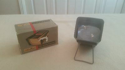 Vintage Airequipt 12X Slide Viewer withTable Stand in Original Box