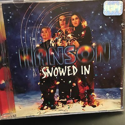 Hanson Very Rare Brazilian Snowed In CD - Different CD than any other release!