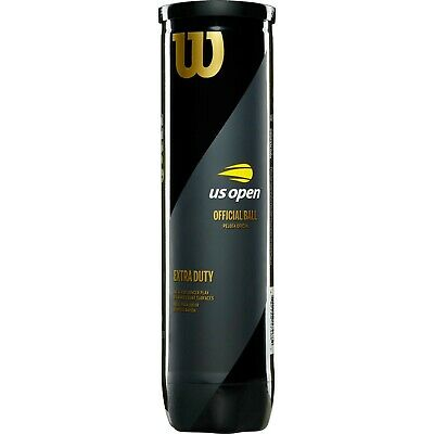 Two Tubes  Of Wilson Us Open Tennis Ball Balls  Free Uk Tracked 48 Hour Delivery