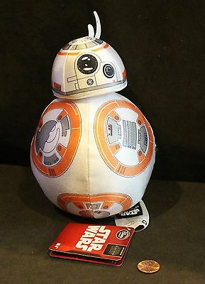 "Disney Store Exclusive, STAR WARS 7.5"" BB-8 Plush, Brand NEW With Tags!"