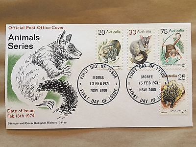 Animal Series First Day Cover FDC, Unaddressed Excellent Condition