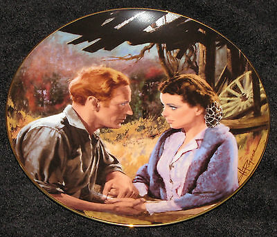 """Golden Anniversary Gone With The Wind """"scarlett And Ashley After The War"""" Plate"""