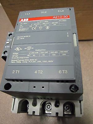 ABB A210-30 Magnetic contactor  300A   for up to 200 HP motor