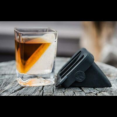 Whisky Wedge Ice Mould & Glass Set