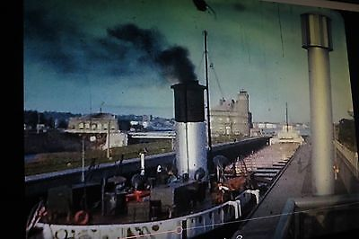 8mm Home Movie Film Reel USS Boats Ships Great Lakes Freighters Michigan Ontario