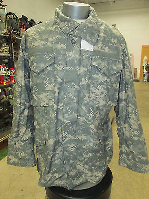 Army Issue Digital Camo ACU Field Jacket (LARGE LONG)