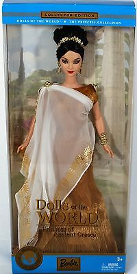 DOLLS OF THE WORLD BARBIE Princess of Ancient Greece Doll Collector Edition NIB