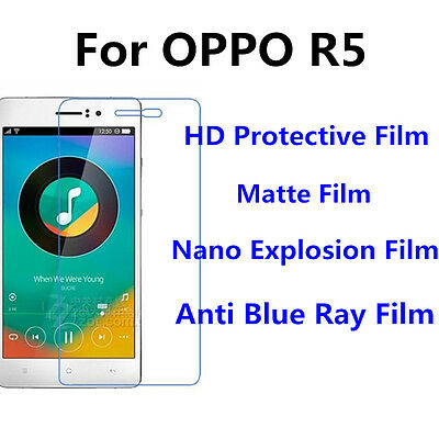 3pcs For OPPO R5  Matte/Nano Explosion/High Clear Screen Protector