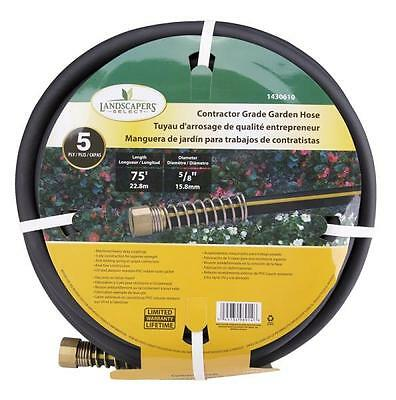 "Landscapers Select GH-585093L Contractor Grade Heavy Duty Garden Hose 5/8"" 75'"