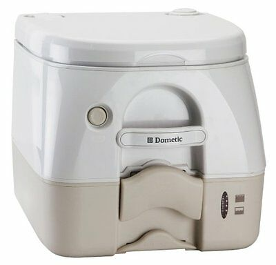 Dometic Sanitation Dometic 972 Portable Toilet 2.6 Gal Tan