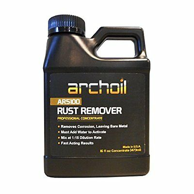 AR5100-16 ~ Concentrate 15:1 Dilution Archoil Rust Remover 16oz